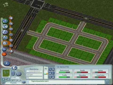 Sim City 4: Building A Region From The Ground Up Part 1