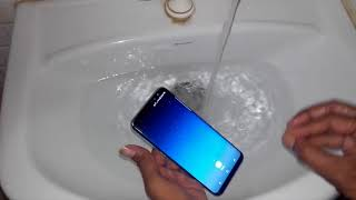 Samsung Galaxy S8+ Water Test || Hindi