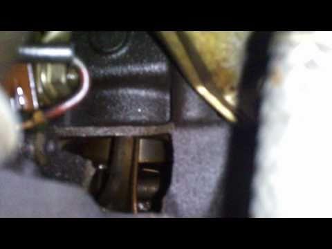 audi A4 turbo motor dañado 2