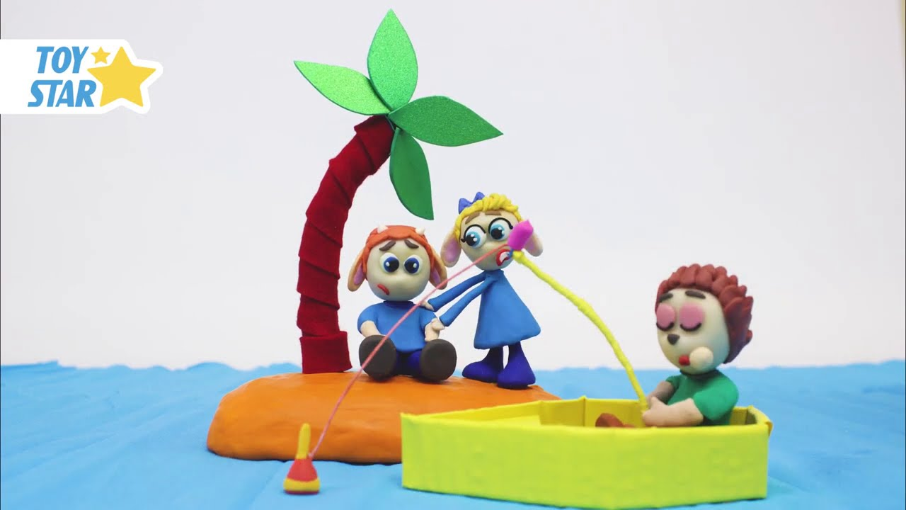 Princesa Dolly Cartoon Play Doh Stop Motion for kids #69