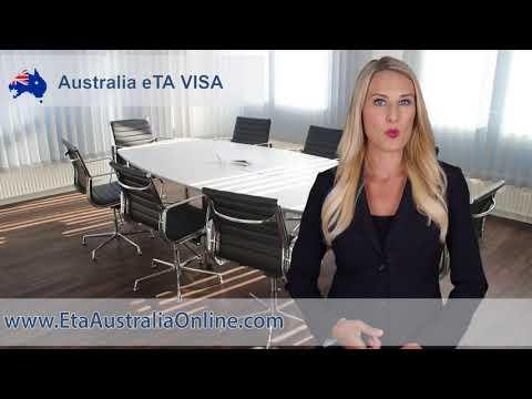 Australian Tourist ETA Visa Application Online