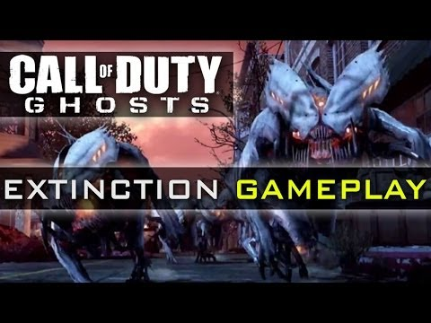 CoD Ghosts EXTINCTION MODE Complete Gameplay