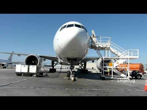 """""""GERMAN CARGO"""" AeroLogic Boeing 777-FZN at KLAX"""
