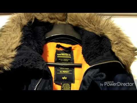 видео: Зимняя куртка alpha industries n- 3b