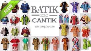 model baju kerja batik terpopuler