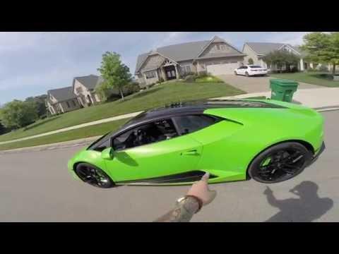 Lamborghini Huracan LP610 - CAR MEET CHARITY DRIVE