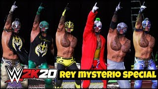 WWE 2K20 'MYSTERIO 619' Special Gameplay ! FAIL GAME LIVE 2K20 Theme Gameplay |