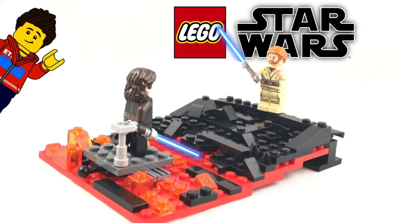 I Have The High Ground Lego Star Wars Moc Youtube