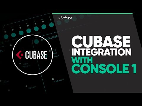 Cubase Integration With Console 1 – Softube