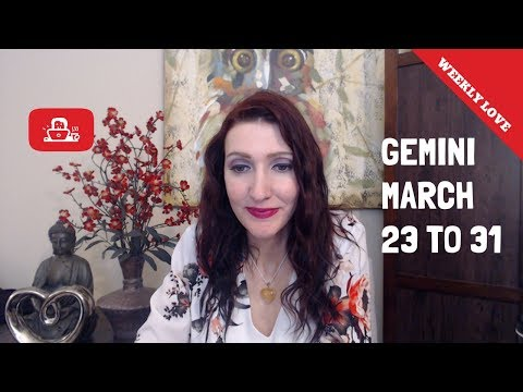 GEMINI X SOMEONE IS REGRETFUL ABOUT LOVE X MARCH 23RD-31ST 2019 WEEKLY TAROT LOVE READINGS