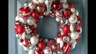DIY Christmas wreath ideas / 50 ideas para coronas navideñas