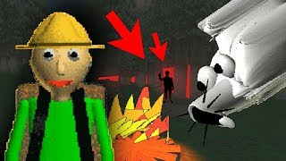 UNBELIEVABLE HIDDEN SECRET IN CAMPING TRIP NEW UPDATE| Baldi's Basics Field Trip Gameplay