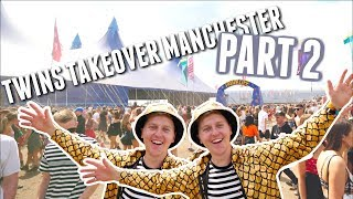 Twins takeover Manchester part 2