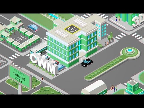 Synapse Medical City Infographic Motion Graphics