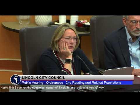 Lincoln City Council Council April 24, 2017