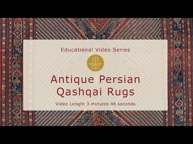 The History & Design of Antique Persian Qashqai Rugs