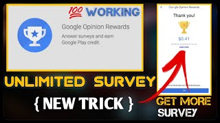 {100% WORKING} How To Get Unlimited Google Opinion Rewards Survey | Google Opinion Rewards Apk