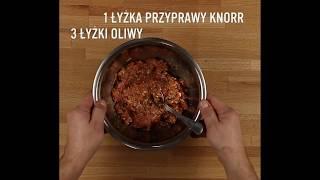Przepis - Pieczona karkówka z mięsem mielonym po włosku (przepisy kulinarne Przepisy.pl)