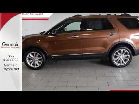 Used 2012 Ford Explorer Columbus, OH #P 2429   SOLD. Germain Toyota Of  Columbus