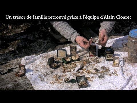 Un trésor de famille retrouvé grâce à l'équipe d'Alain Cloarec