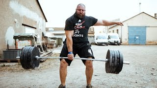 260KG/550LBS ONEARMDEADLIFT/ Don´t try this at home