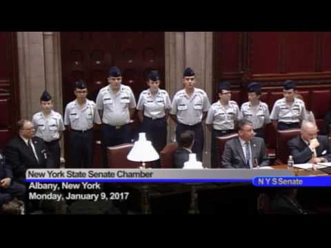 New York State Senate Session - 01/09/17