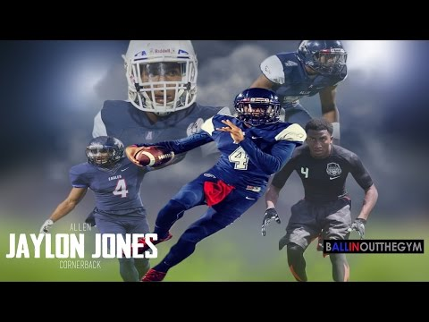 Jaylon Jones is an ELITE DB : (2015 Senior Football Highlights)