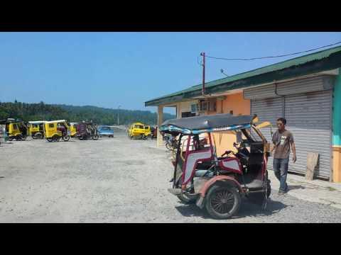 Around town in Babak, Samal Island