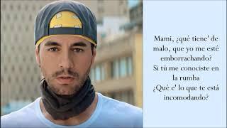 Fútbol y Rumba - Enrique Iglesias & Anuel AA - (Lyrics / Letra)