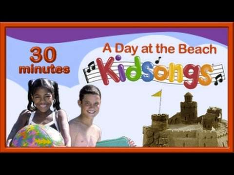 A Day at the Beach | Barefootin' | Beach Songs for Kids | Summer Songs Kids | Kids Songs | PBS Kids|