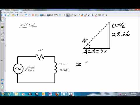 Impedance in a Series RL Circuit.wmv