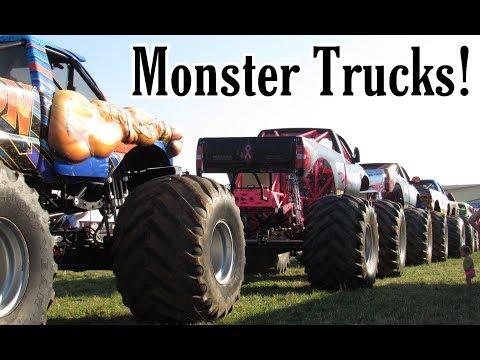 Monster Truck Summer Nationals Fishersville, Virginia 2019 HIGHLIGHTS!