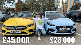 £28,000 HYUNDAI I30N VS £45,000 MERCEDES-AMG A35: HEAD TO HEAD