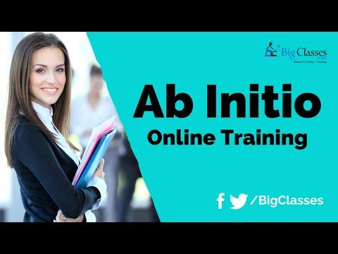 Ab Initio Online Training - Ab Initio Tutorials - BigClasses
