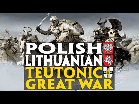 Polish - Lithuanian - Teutonic Great War (Battle of Grunwald) Documentary