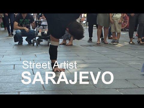 SARAJEVO CITY - Street Artist - Visit Sarajevo and enjoy it ! (part 3.)