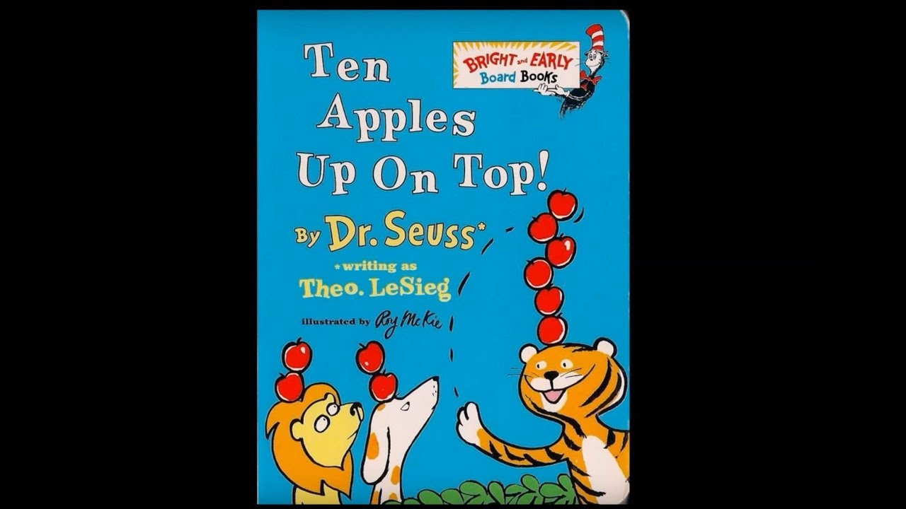 its youtube uninterrupted - Ten Apples Up On Top Coloring Pages