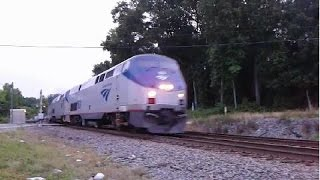 The Amtrak Crescent #20 Phone Video & Horn Show! Mableton,Ga 05-27-2015©