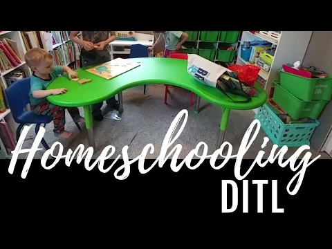 Homeschooling Day In The Life | DITL