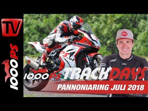 Leiwande Leute, mächtige Bikes - 1000PS Bridgestone Trackdays Juli 2018 Pannoniaring