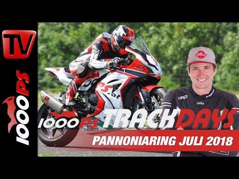 Leiwande Leute, mächtige Bikes - 1000PS Bridgestone Trackdays Juli 2018 Pannoniaring