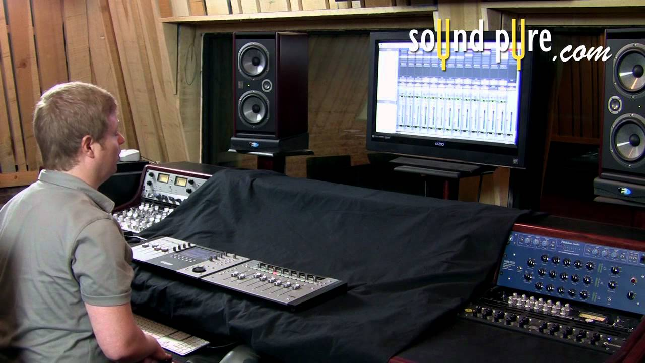 avid artist mix and control tutorial how to control the pro tools mixer youtube. Black Bedroom Furniture Sets. Home Design Ideas