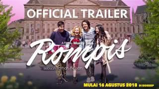 Video OFFICIAL TRAILER FILM ROMPIS (2018) | 16 AGUSTUS 2018 DI BIOSKOP download MP3, 3GP, MP4, WEBM, AVI, FLV Agustus 2018