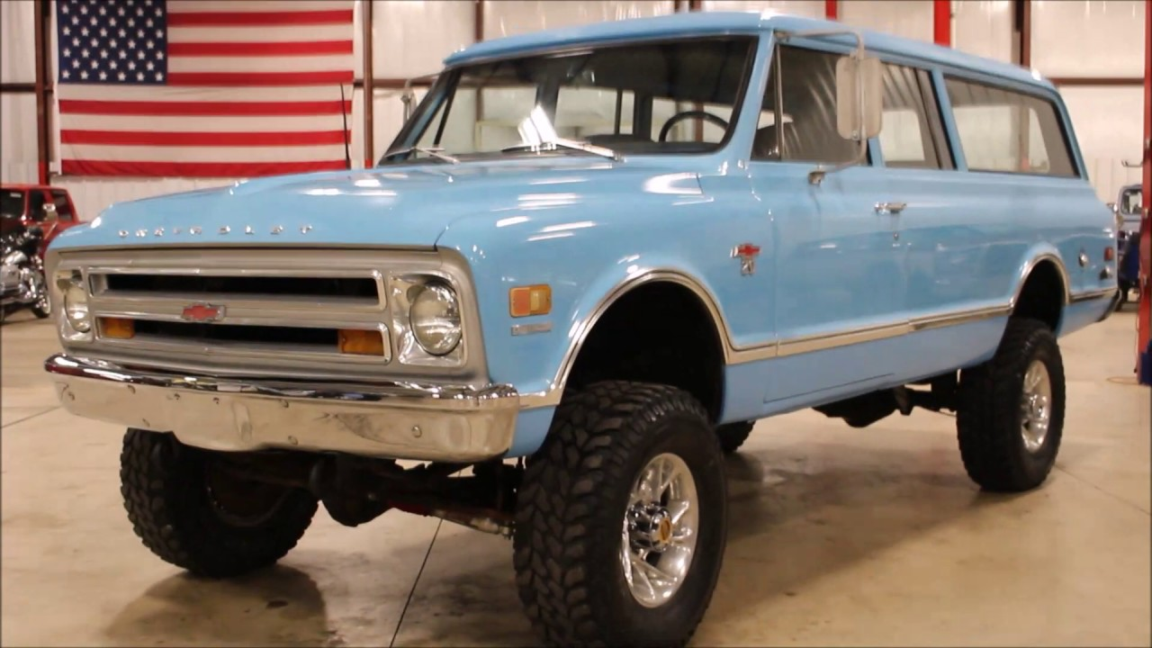 Chevy K20 For Sale >> 1968 Chevy Suburban - YouTube