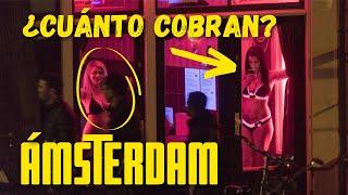 Mi experiencia en el DISTRITO ROJO de ÁMSTERDAM | ¿Cuánto cobra una prostituta aquí?