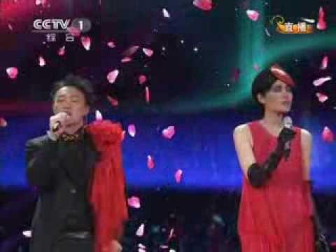 2012 |CCTV春晚  歌曲《因为爱情》王菲 陈奕迅| CCTV春晚