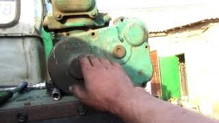 ремонт п-350 и подготовка к розборке ДВС простоявшего 12лет.