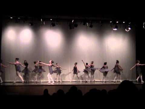 Titanium/Pavane 8th grade ballet technique class