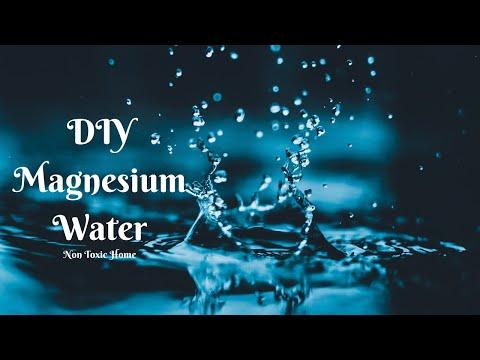 DIY Magnesium Water