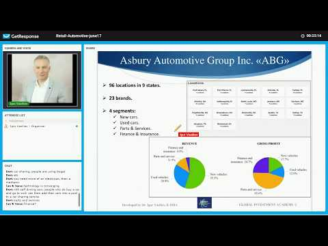 Retail Automotive industry Part 3 Asbury Automotive Group company (ABG) fundamental analysis